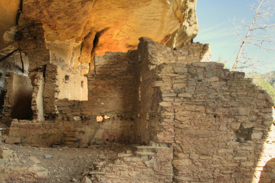 Sandal House, Ute Mountain Tribal Park, Colorado